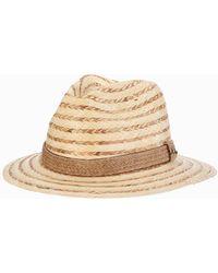 990b97ee0a1 Lyst - Tommy Bahama Buri Braid Raffia Hat in Natural for Men