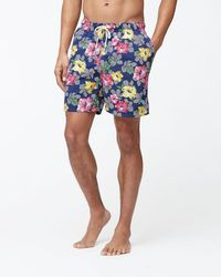 Tommy Bahama - Naples Hibiscus High Line 6-inch Swim Trunks - Lyst