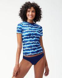 Tommy Bahama - Tide Dye Stripe Short-sleeve Rash Guard - Lyst