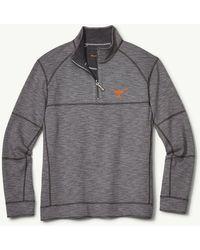 e0c06fcf Tommy Bahama - Collegiate Sandbar Slub Reversible Half-zip Sweater - Lyst