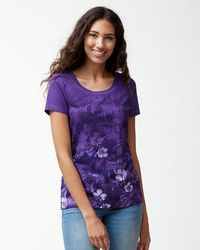 Tommy Bahama - Collegiate Floral T-shirt - Lyst