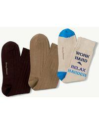 Tommy Bahama - Work Hard Relax Harder Socks - 3-pack - Lyst