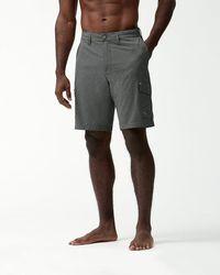 Tommy Bahama - Cayman Isles Cargo 10-inch Hybrid Board Shorts - Lyst