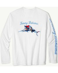 Tommy Bahama - Hula Holiday Marlin Lux Long-sleeve T-shirt - Lyst
