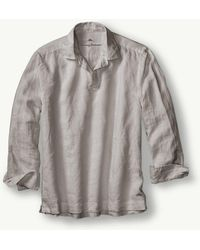 Tommy Bahama - Big & Tall Sea Glass Linen Popover - Lyst