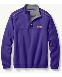 Tommy Bahama - Collegiate Campus Flip Side Half-zip Sweatshirt - Lyst