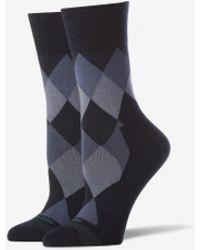 670e351572c2 Happy Socks Palm Tree Dress Socks in Gray - Lyst