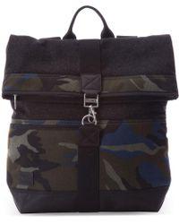 TOMS - Olive Camo Herringbone Discover Backpack - Lyst