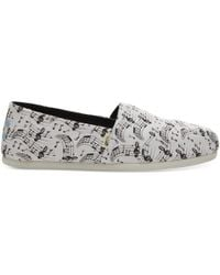 dff7903d7e6 TOMS Rose Gold Glimmer Women s Classics in Pink - Lyst