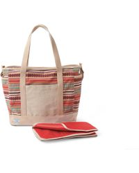 TOMS - Cayenne Multi Stripe Baby Bag Tote - Lyst