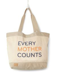 TOMS - Light Grey Every Mother Counts Tote Bag - Lyst