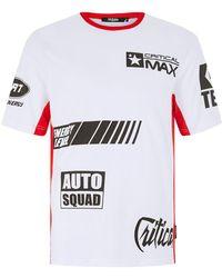 Jaded - White Racing T-shirt - Lyst