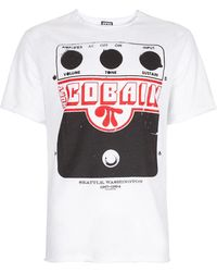 Amplified | White Kurt Cobain Amplifier Print T-shirt* | Lyst
