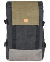 TOPMAN - Ucon Acrobatics Black And Green Backpack* - Lyst