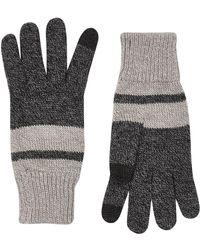 TOPMAN - Charcoal Grey Gloves - Lyst