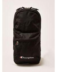 TOPMAN - Champion Black Cross Body Bag - Lyst