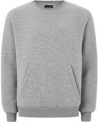 Antioch - Grey 'anti Everything' Sweatshirt - Lyst