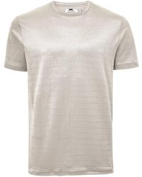 d5f20bf9 Lyst - Billabong Corduroy Eco-friendly Graphic Tee Shirt in White ...