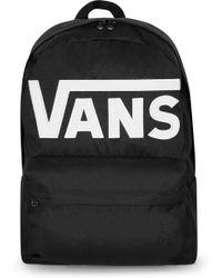 TOPMAN - Vans Black And White Backpack - Lyst