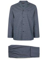 TOMS - Wolsey Navy Geometric Print Pyjama Set - Lyst