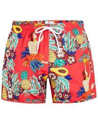 TOPMAN - Pink Fruit Swim Short - Lyst