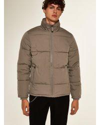 TOPMAN - Puffer Jacket - Lyst