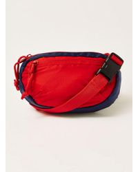 TOPMAN - Cross Body Bag In Red - Lyst