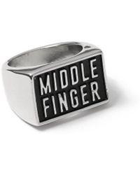 TOPMAN - Middle Finger Ring - Lyst