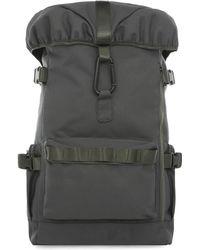 TOPMAN - Gray Military Backpack - Lyst