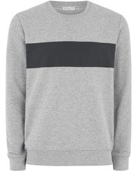 TOPMAN - Elected Homme Gray 'dutch' Sweatshirt - Lyst