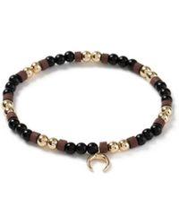 TOPMAN - Moon Bead Bracelet - Lyst