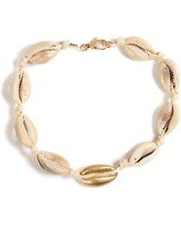 TOPMAN - Cow Shell Bracelet - Lyst