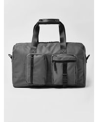 Topman | Charcoal Military Holdall Gym Bag | Lyst