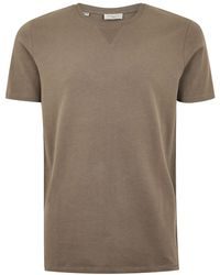 TOPMAN - Elected Homme Brown T-shirt - Lyst