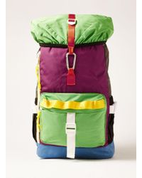 TOPMAN - Multicoloured Backpack - Lyst