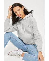 TOPSHOP - Hoodie By Tommy Jeans - Lyst