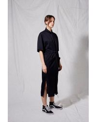 TOPSHOP - Utility Shirt Dress By Boutique - Lyst