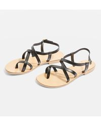 TOPSHOP | Hot Stuff Strappy Sandals | Lyst