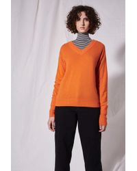 TOPSHOP - V-neck Cashmere Jumper By Boutique - Lyst