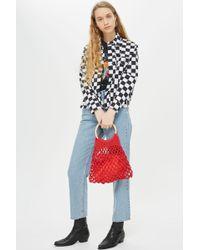 TOPSHOP - Benny String Shopper Bag - Lyst