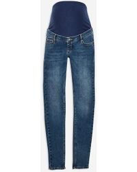 TOPSHOP - maternity Over The Bump Jamie Jeans - Lyst
