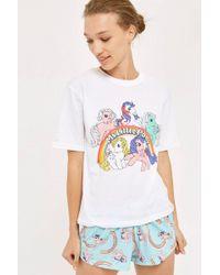 TOPSHOP - 'my Little Pony' Pyjama Set - Lyst