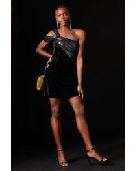 427e238690 TOPSHOP - velvet And Sequin Dress By X Halpern - Lyst