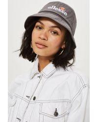 Ellesse   Grey Bucket Hat By   Lyst