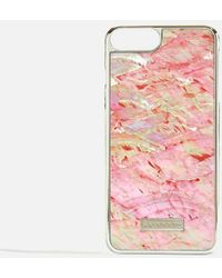 Skinnydip London - Pink Shell 6/7/8 Iphone Case By Skinnydip - Lyst
