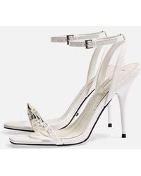 TOPSHOP - Rica Two Part Skinny Sandals - Lyst