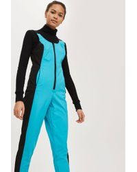 TOPSHOP | Sno All In One Ski Suit | Lyst