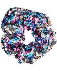 TOPSHOP - Sequin Hair Scrunchie - Lyst