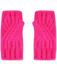 TOPSHOP - Cable Knit Handwarmers - Lyst
