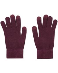 TOPSHOP - Touch Screen Knitted Gloves - Lyst